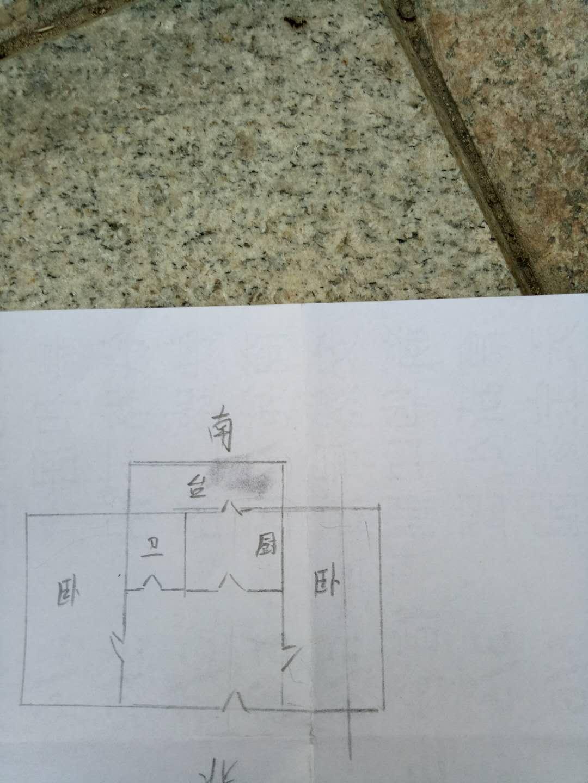 筑路机械厂宿舍 2室1厅 4楼
