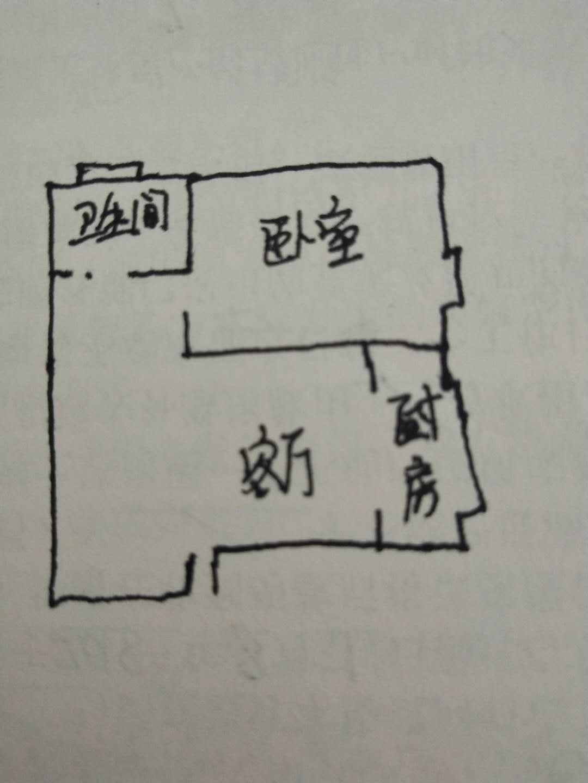 金光集团宿舍 1室1厅 过五年 简装 35万