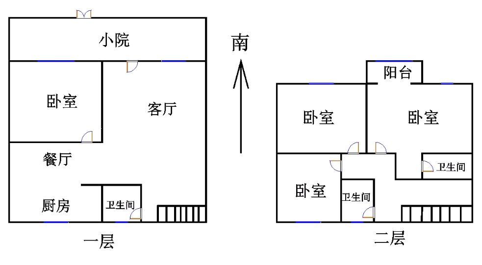 大刘庄小区 5室2厅  精装 120万