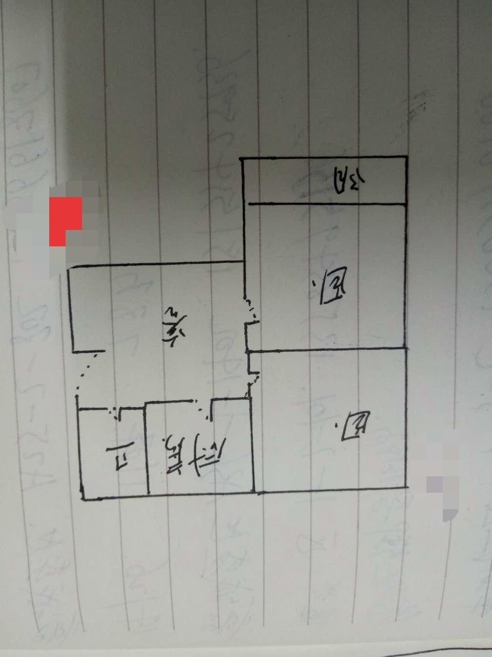 邹李小区 2室1厅  简装 35万