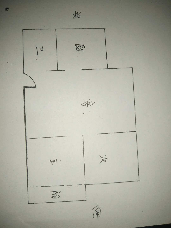 双环小区 2室1厅  简装 56万