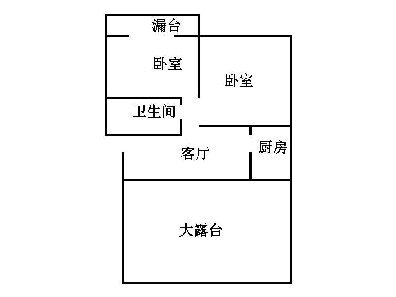 温馨家园 1室1厅 6楼
