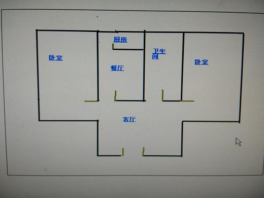 岔河小区 2室1厅 6楼