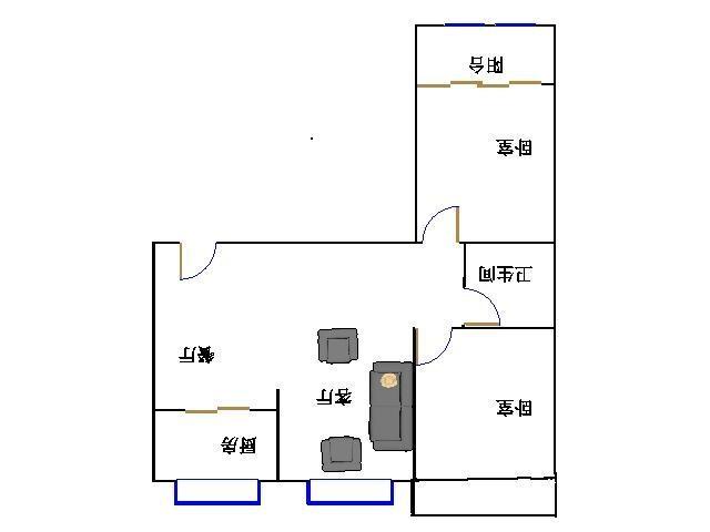 泰和名仕港 2室2厅 7楼