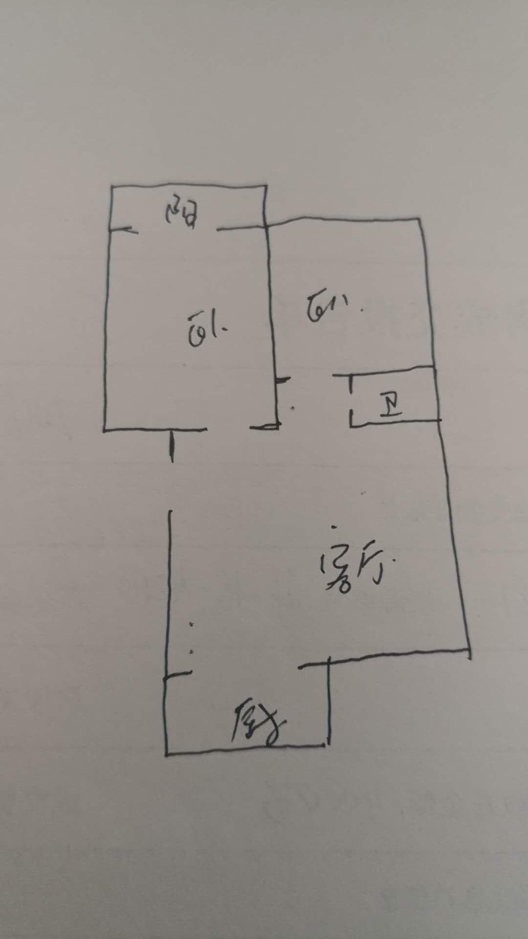 印染厂宿舍 2室1厅 3楼