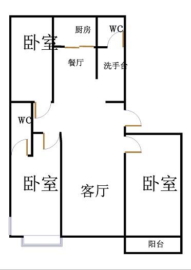 金鼎公馆 3室2厅  精装 146万