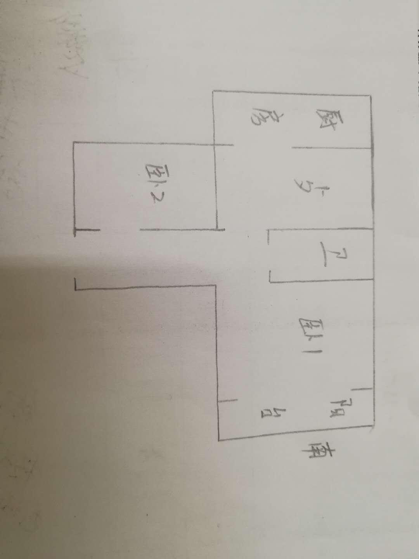 棉麻宿舍 2室1厅 双证齐全 简装 45万
