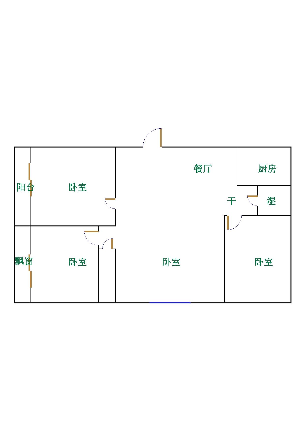佰利金湖湾 3室2厅  精装 140万