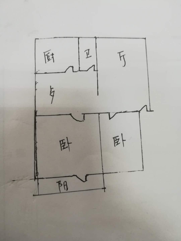 肖何庄小区 2室2厅  简装 50万