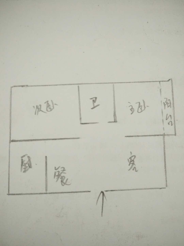 嘉御园 2室2厅 4楼