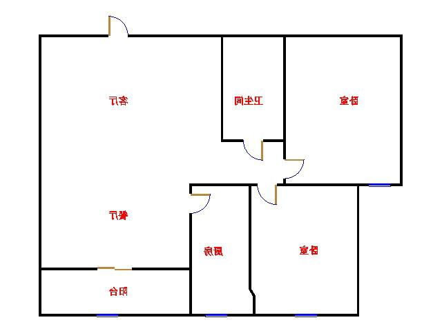 世纪花城 2室2厅 双证齐全 简装 105万