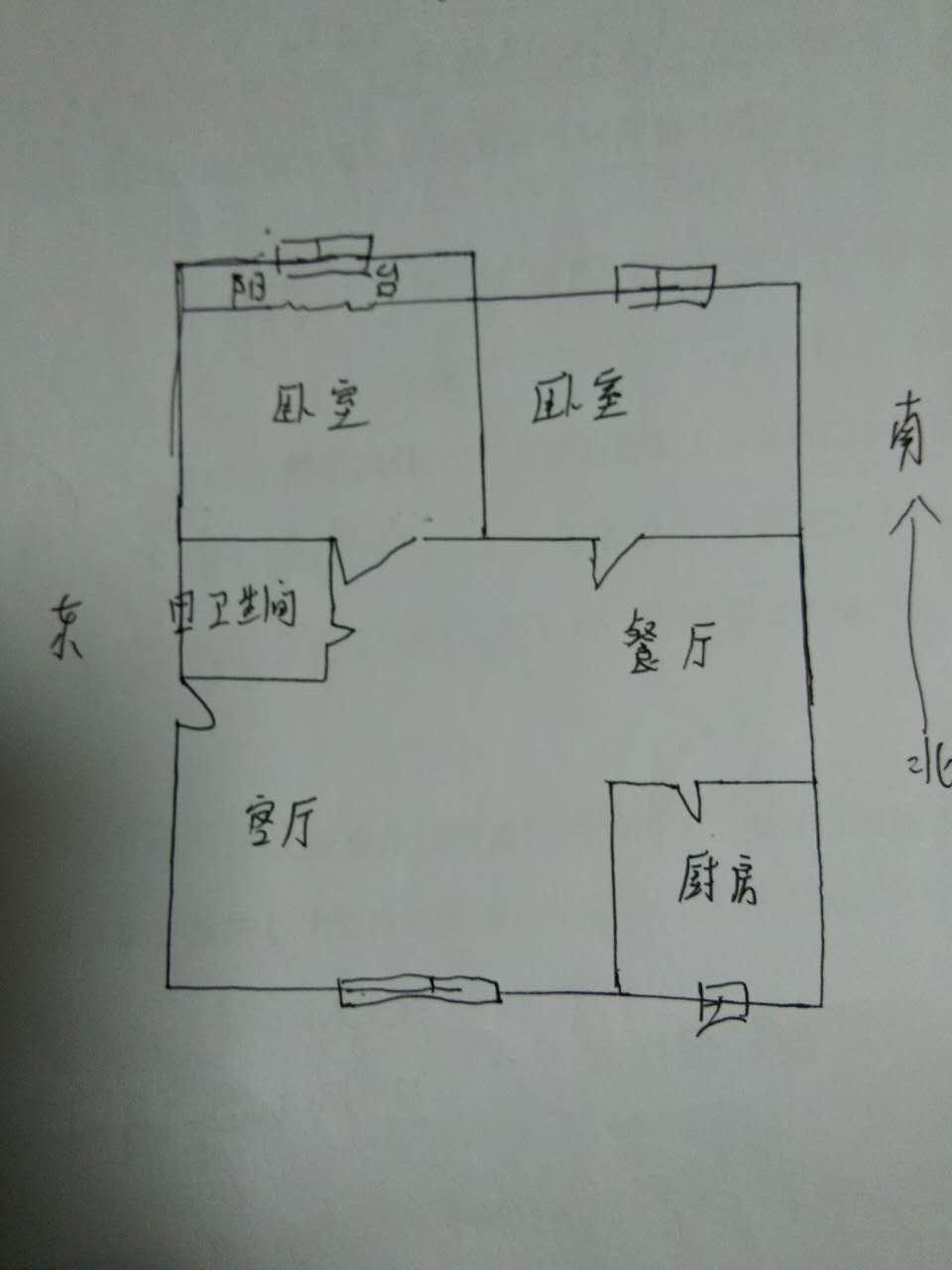 小辛社区 2室2厅 过五年 精装 40万