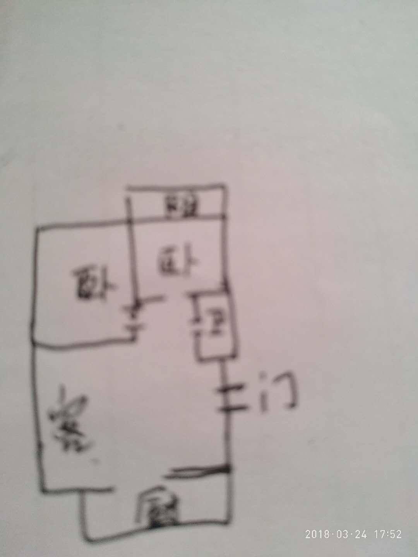 温馨家园 2室1厅 2楼