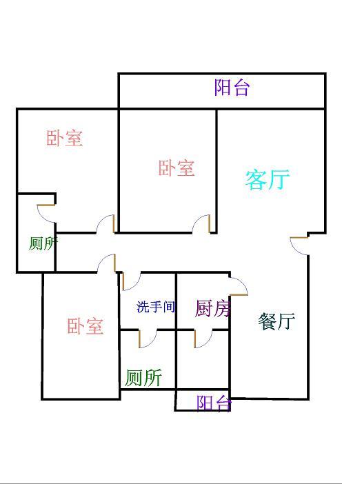 高地世纪城 3室2厅 双证齐全 简装 146万