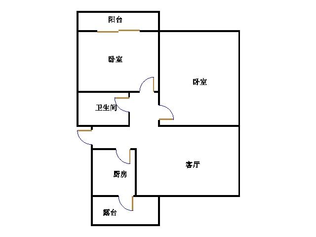 北苑新邸 2室2厅  精装 42.8万
