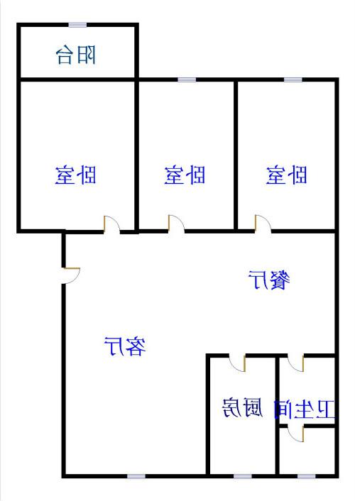 刘集社区 2室1厅 1楼