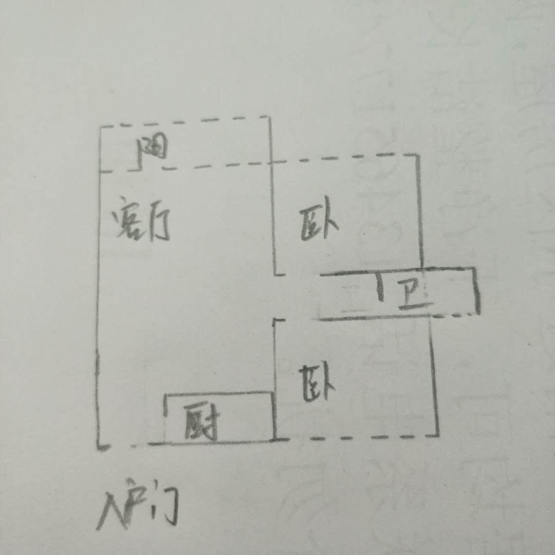 袁桥社区 2室2厅 14楼