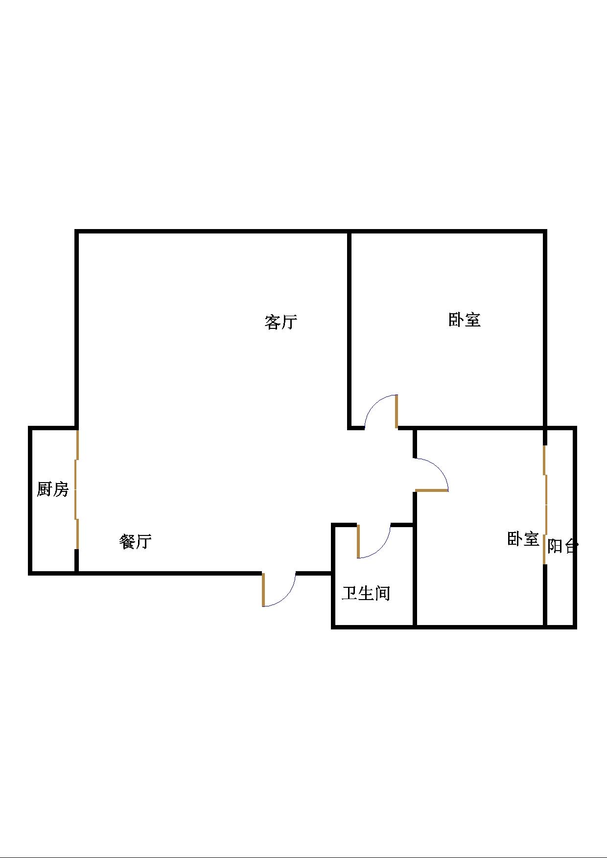 芙蓉丰顺苑 2室1厅  简装 67万