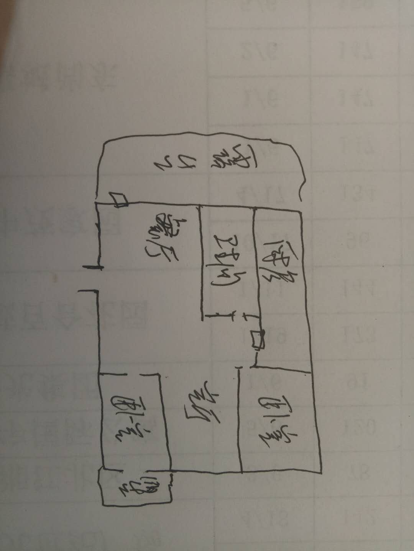 嘉诚尚东 3室1厅 双证齐全 简装 85万