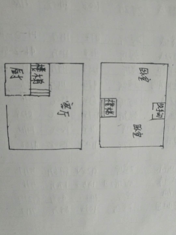 未来城 2室1厅 双证齐全 精装 58万