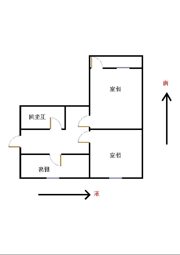 二棉宿舍 1室1厅  简装 50万