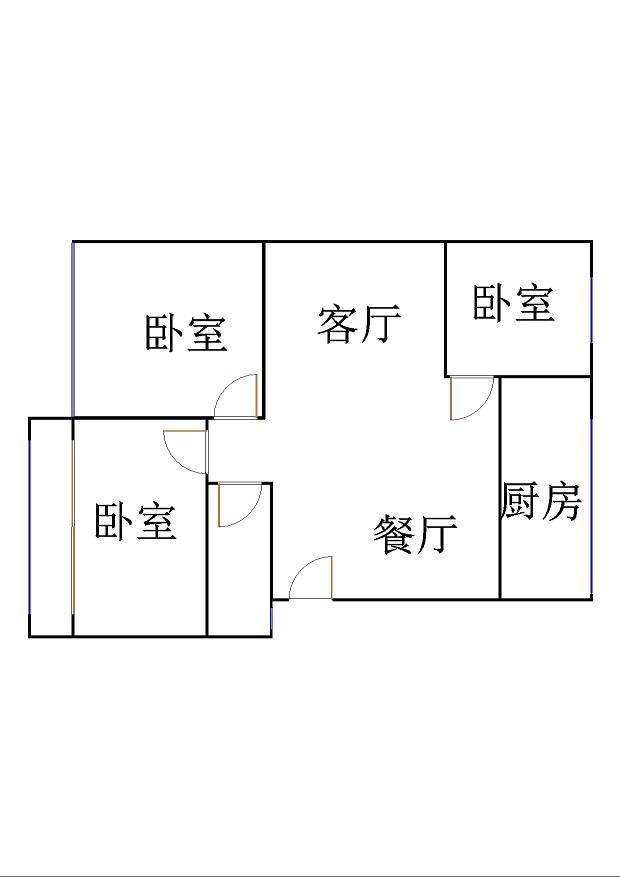 五环庄园 3室2厅 2楼