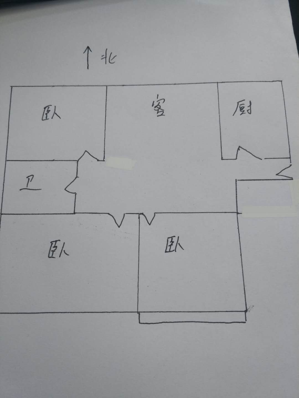书香苑 3室2厅 16楼