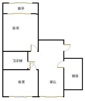 南苑花城 2室2厅 双证齐全 简装 72万