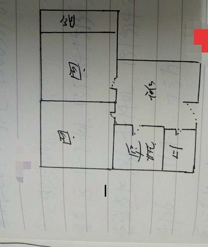 南源港湾 2室1厅  简装 26万