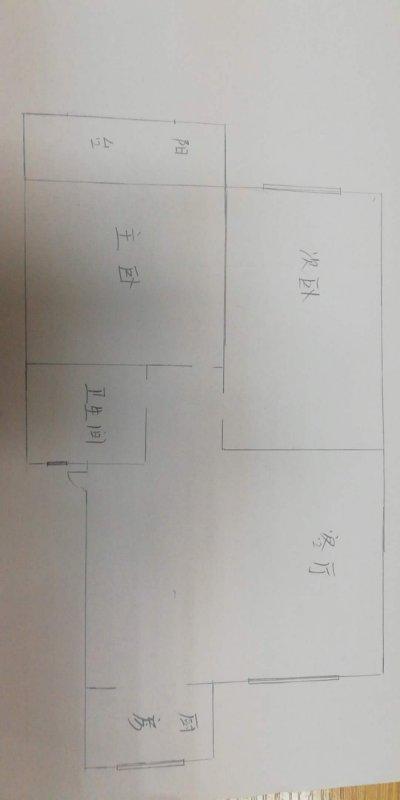 东海富贵苑 2室2厅 双证齐全 简装 73万