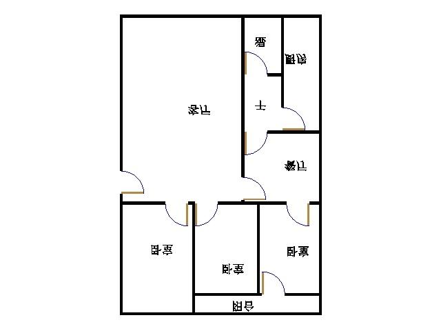 青龙潭小区 3室2厅 双证齐全过五年 简装 106万
