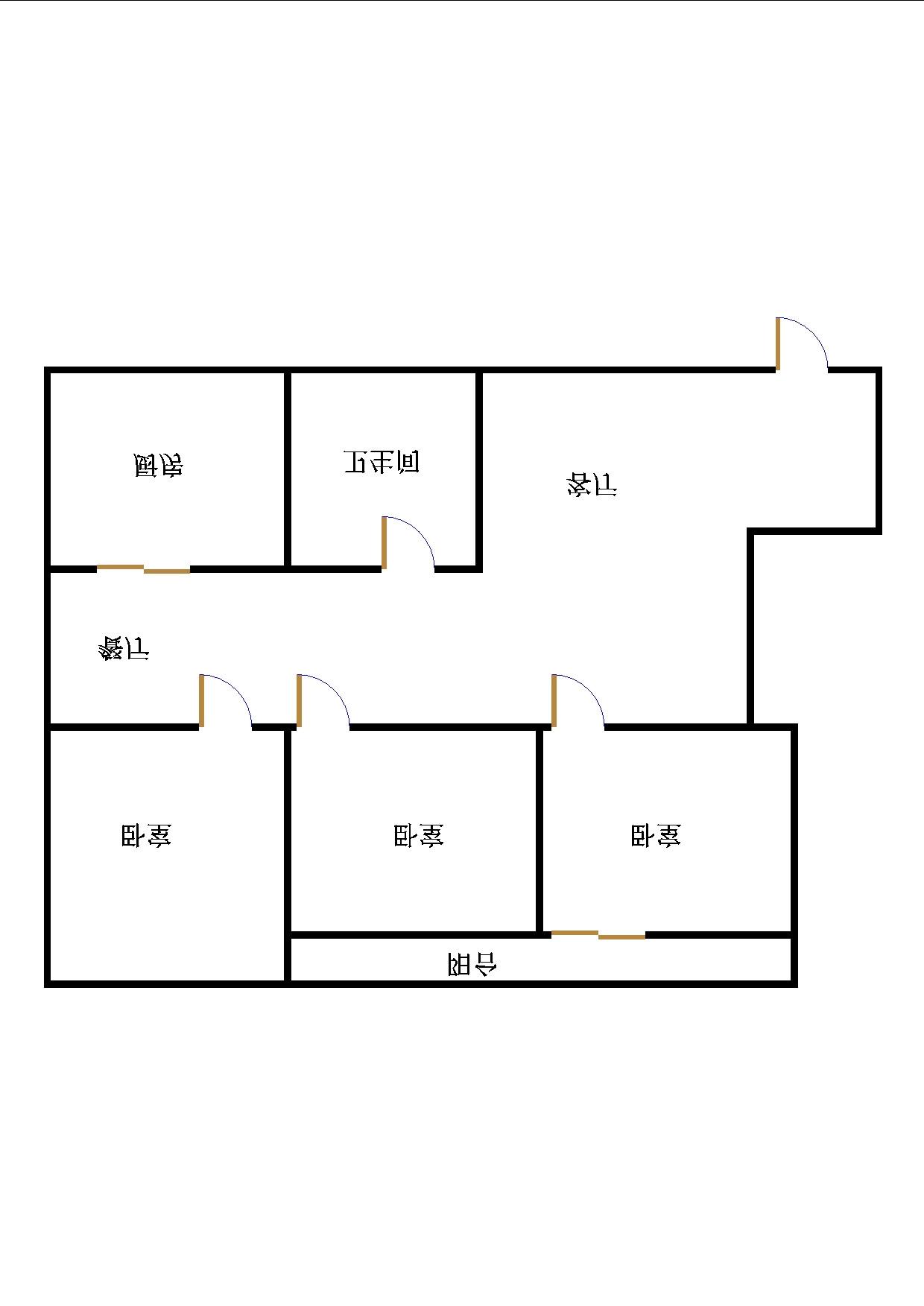 东海花园 3室2厅 双证齐全 简装 145万