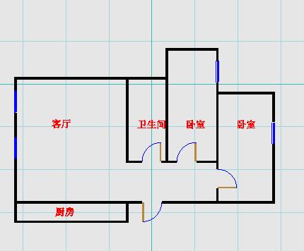 美邻美郡 2室2厅 13楼