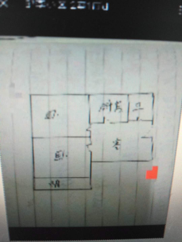 邹李小区 2室1厅  简装 55万