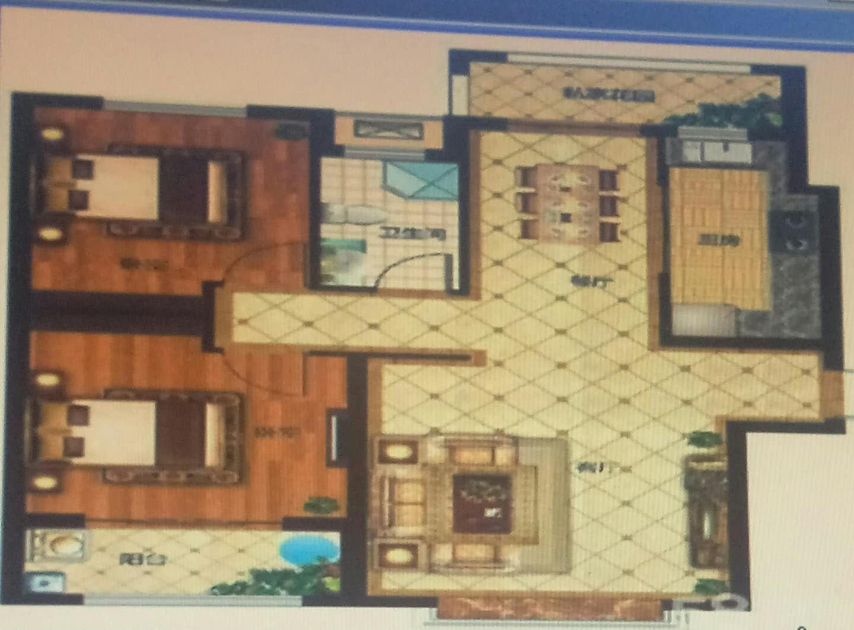 红星美凯龙国际广场 2室1厅 7楼