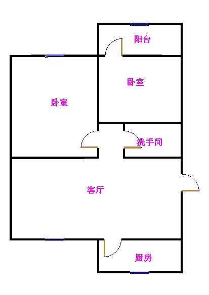 东长庄园 2室2厅  简装 30万