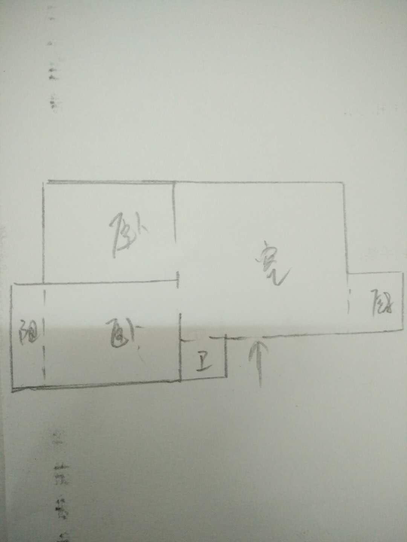 芙蓉丰顺苑 2室1厅 6楼