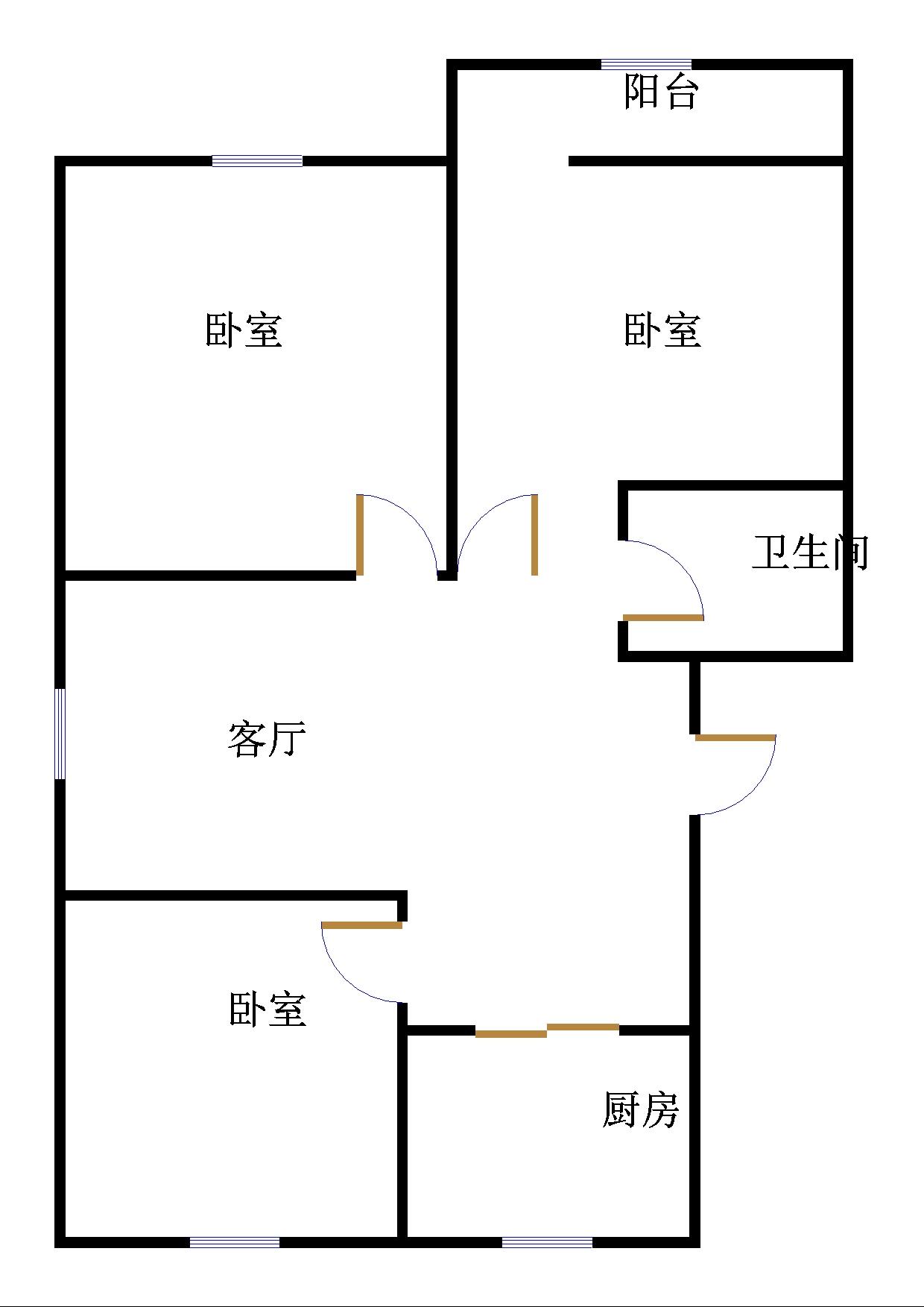 嘉诚尚东 3室2厅 双证齐全 精装 125万