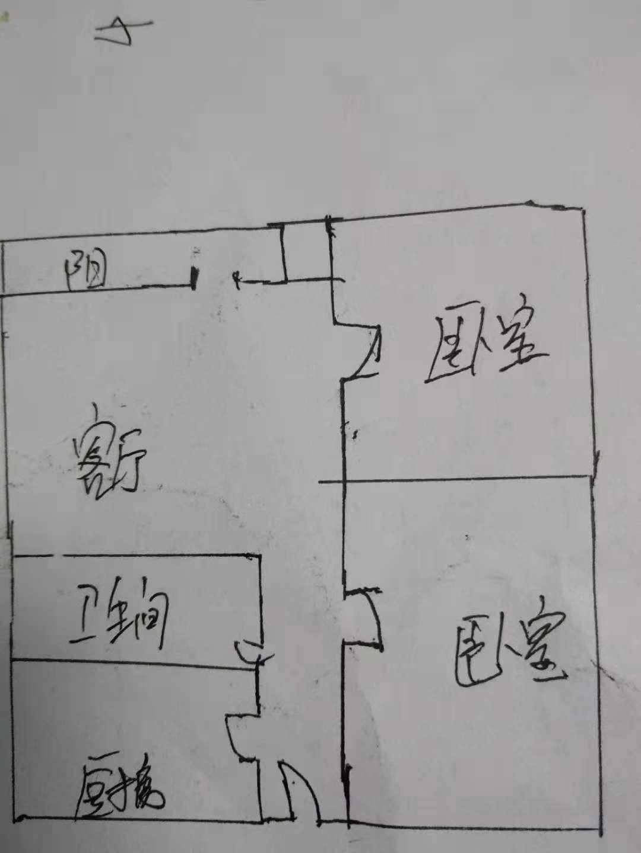 凯旋花园 2室1厅 10楼