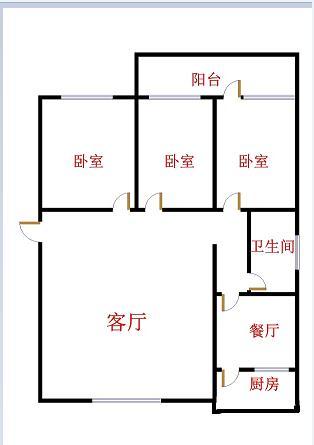八一小区 3室2厅 双证齐全 简装 150万
