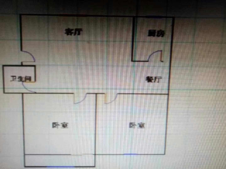 金光集团宿舍 2室2厅  简装 75万