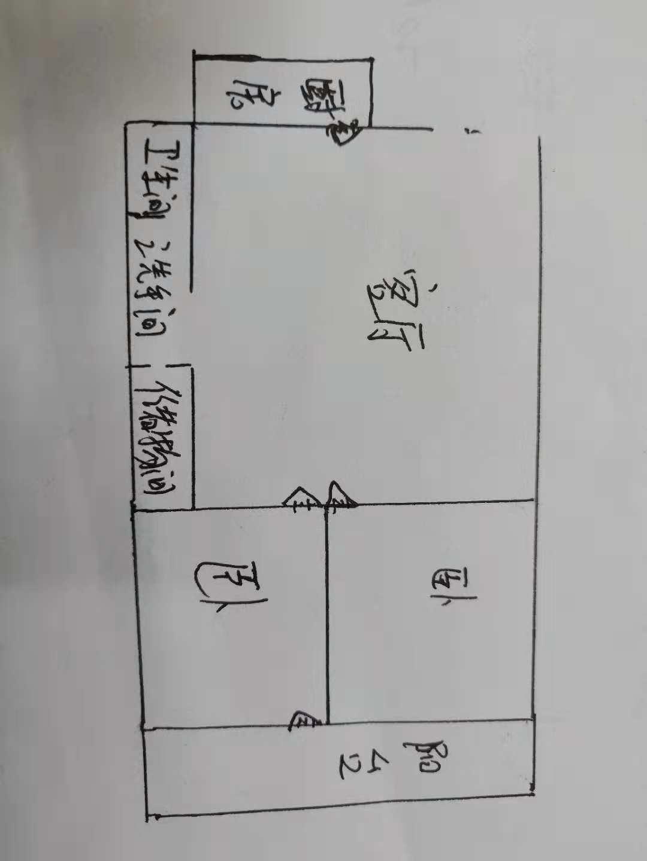 交通局宿舍 2室1厅 过五年 简装 70万