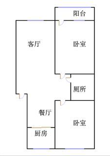 博汇家园 2室2厅 3楼
