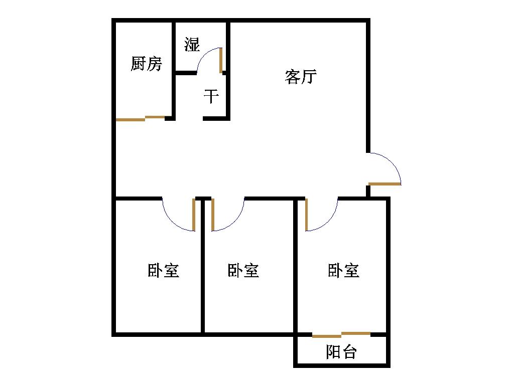 南龙国际花园 3室2厅  精装 160万