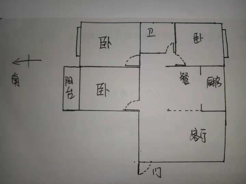 天钰铭城 3室2厅 7楼