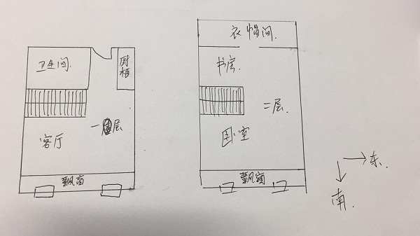 唐人D区(公寓)LOFT 1室1厅 9楼