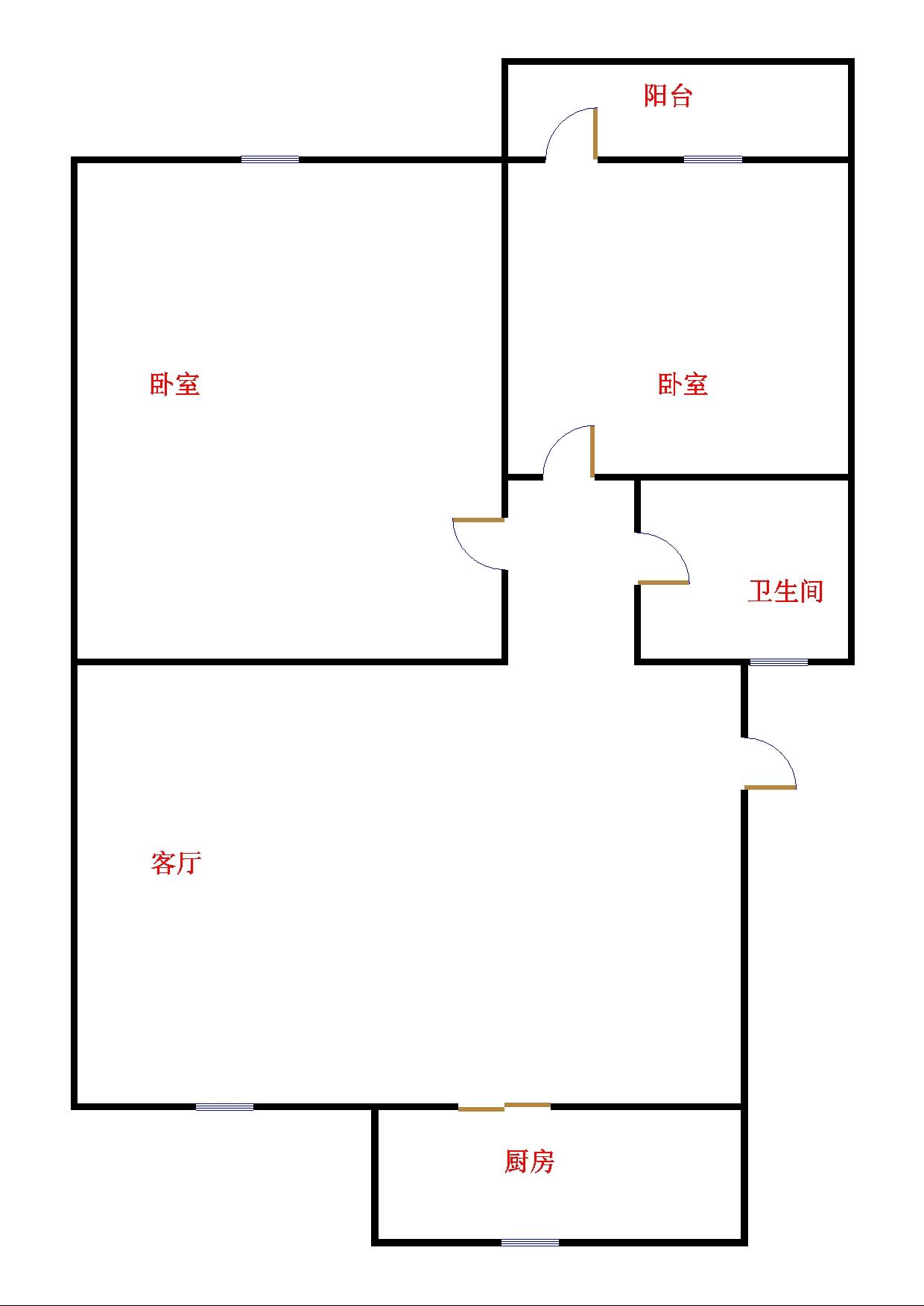 嘉诚尚东 3室2厅  精装 130万