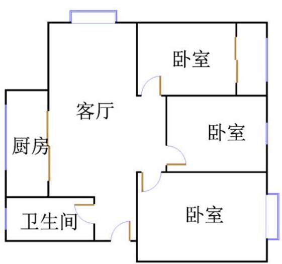 外海.江南水郡 3室2厅  精装 68万