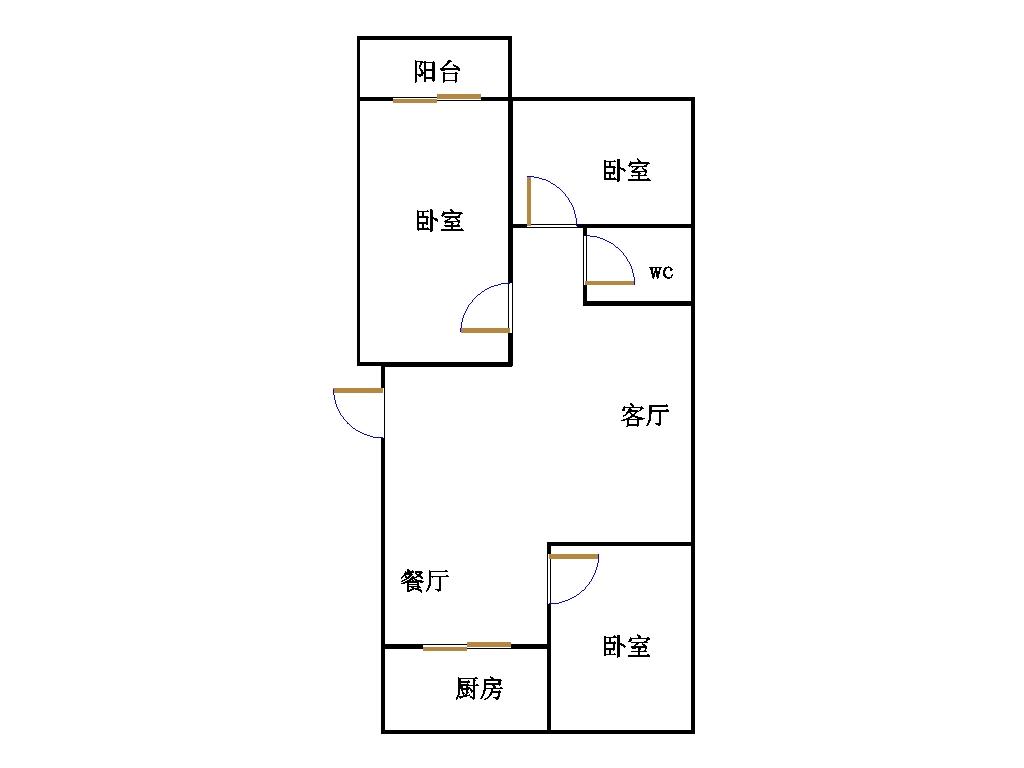 丹若园 3室2厅  精装 135万