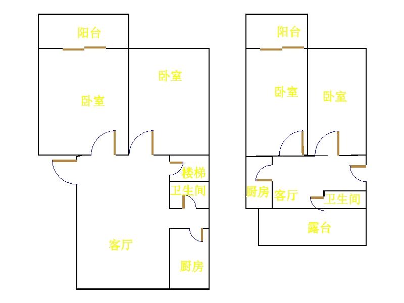 西长新村 4室2厅 5楼